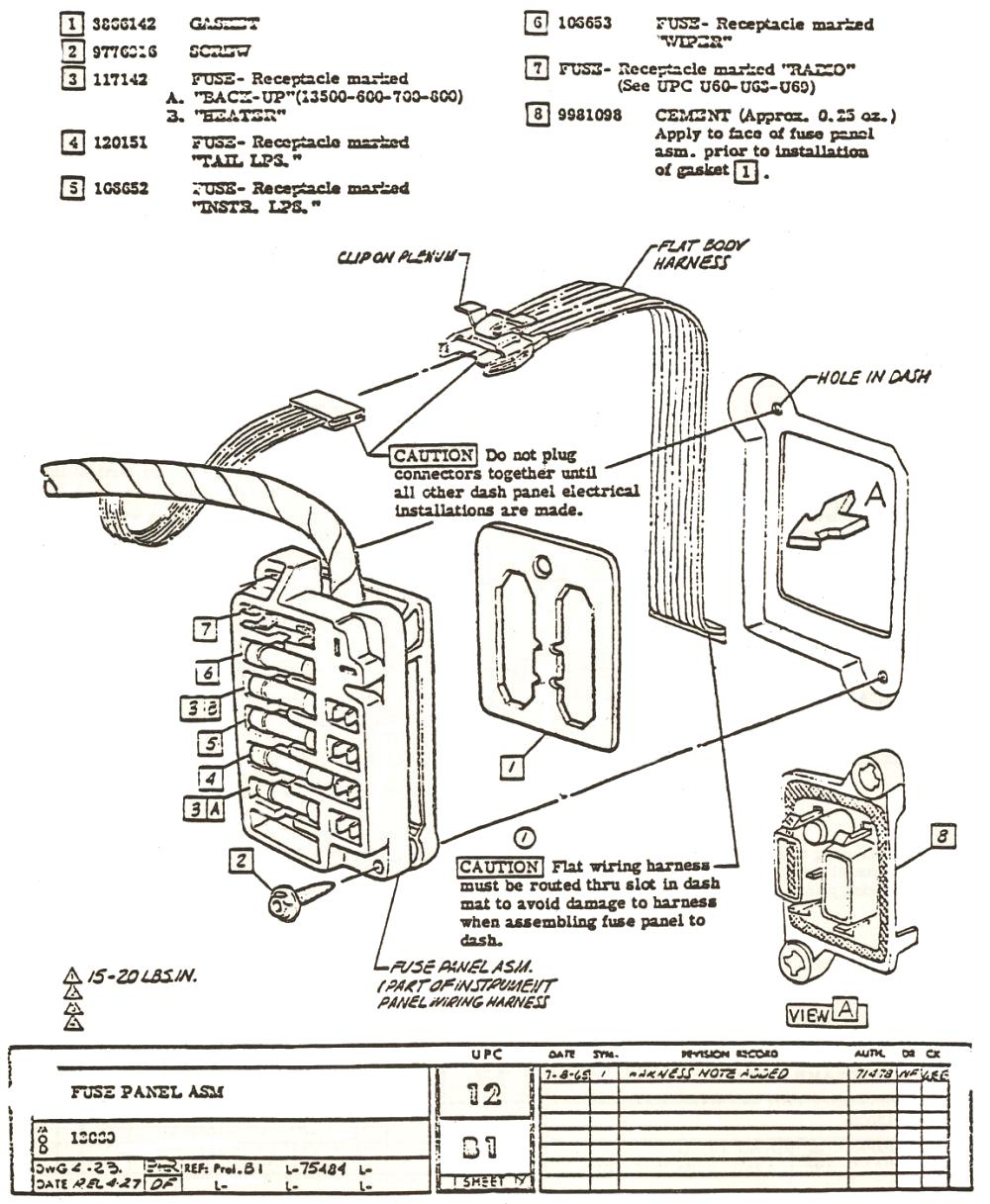 1971 Chevelle Fuse Box Diagram Wiring Diagrams 69 Harness Manual Headlights